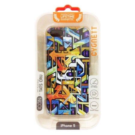 "Cygnett Tats Cru ""The Bronx"" Graffiti Art iPhone 5/5S/SE Case Screen Protector - image 1 de 3"