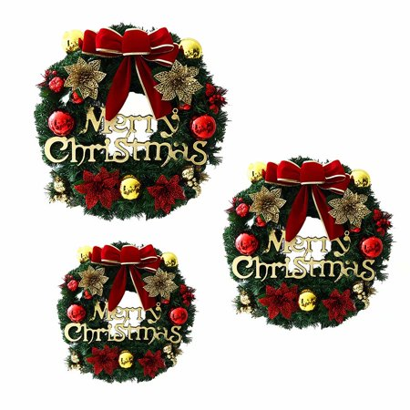 Christmas Wreath Christmas Decoration Window Props Scene Arrangement Decoration - Christmas Scene Decorations