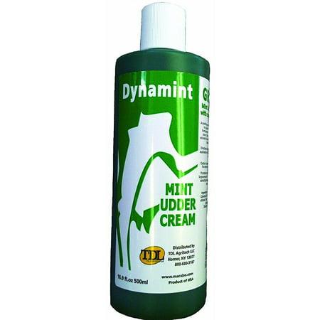 jdj solutions dyn500-gr dynamint mint udder cream green, 500ml -  jdj solutions,
