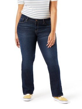Signature by Levi Strauss & Co. Women's Plus Modern Bootcut Jean