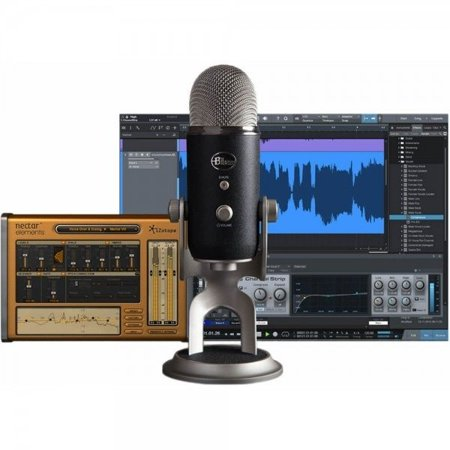 Yeti Pro Studio Recording Pack w/ Microphone and (Best Avid Music Recording Softwares)