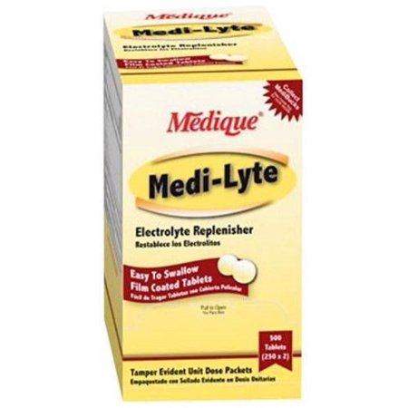 Medique Medi-Lyte Electrolyte Replenisher Heat Relief 500 Tablets