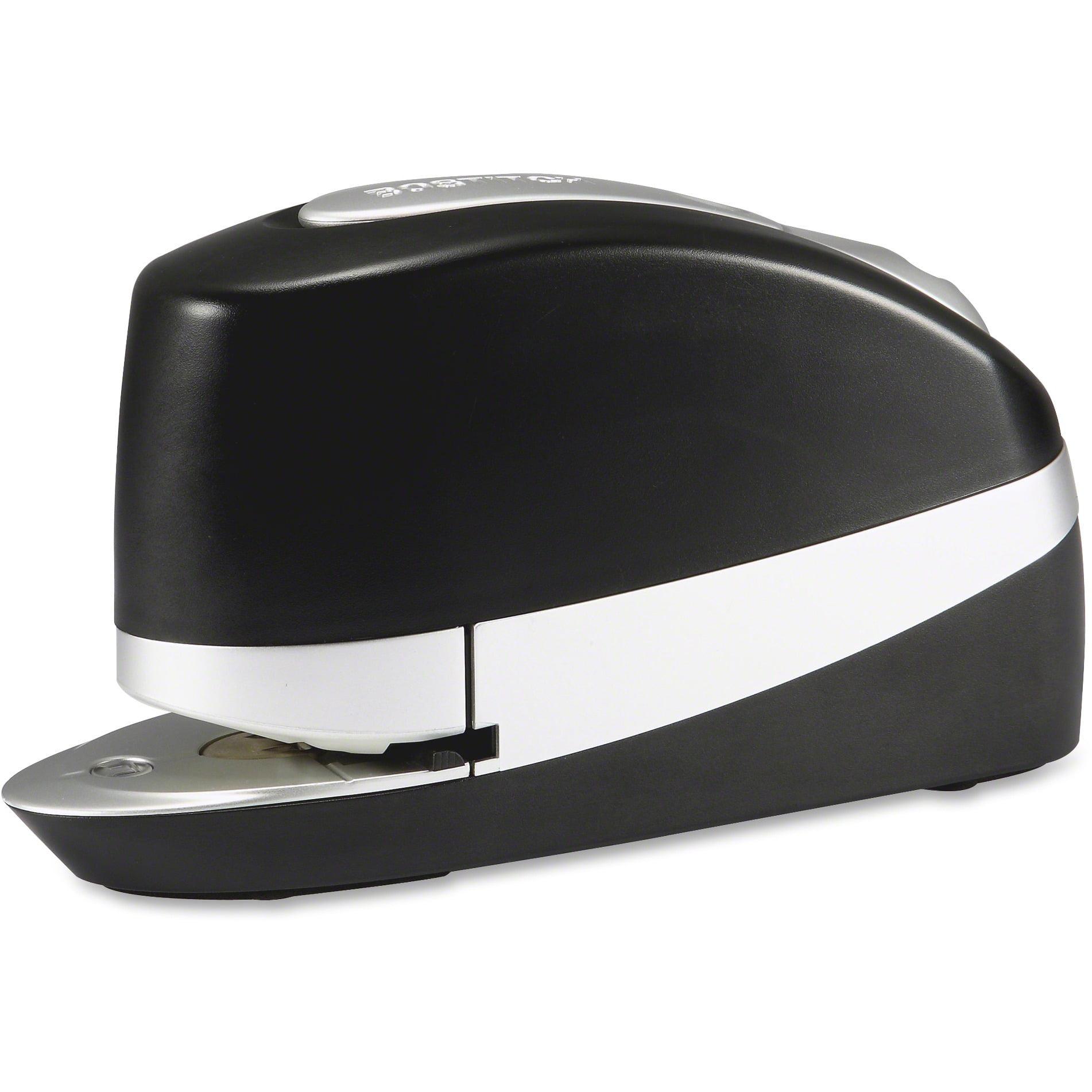 Bostitch, BOS20SUITEBLK, Impulse 20 Executive Electric Stapler, 1 Each, Black,Silver