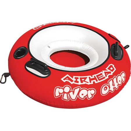 Airhead River Otter Single Rider Inflatable Float Lounge Lake Pool Tube