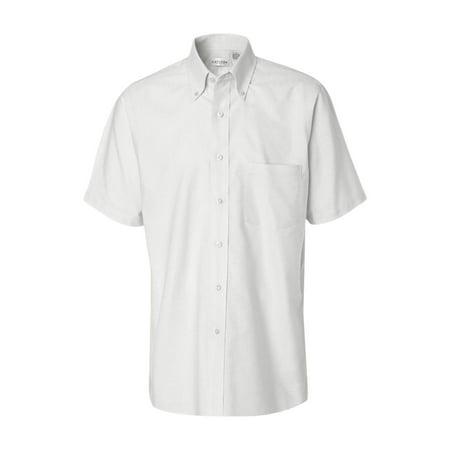 - Van Heusen Wovens Short Sleeve Oxford Shirt 13V0042