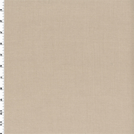 Sand Beige Wool Blend Woven Suiting, Fabric By the