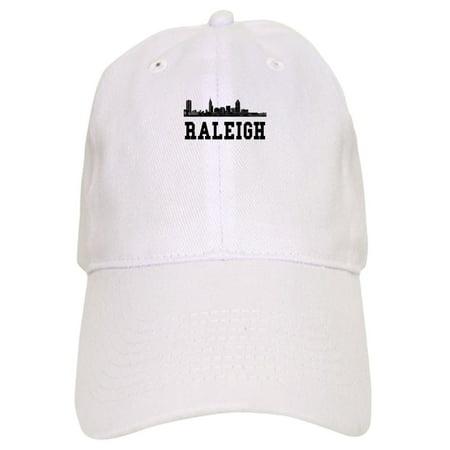 CafePress - Raleigh NC Skyline Baseball - Printed Adjustable Baseball Cap ()