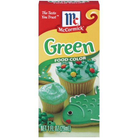 McCormick Green Food Color, 1 fl oz (Best Color For Food)