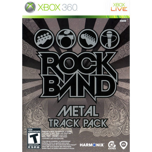 Rock Band Metal Track Pack (Xbox 360)