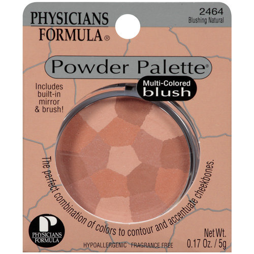 Physicians Formula Powder Palette Multi Colored Blush, Blushing Natural 2464