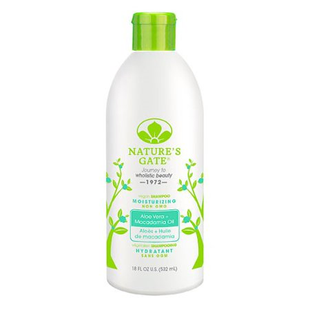 Nature's Gate Aloe Vera Moisturizing Shampoo For Normal To Dry Hair, 18 (Natures Gate Red Shampoo)