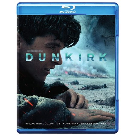 Dunkirk (2017) Full HD Blockbuster Drama/Thriller Movie (Blu-ray + DVD + Digital) (New Open (Best Home Theater In A Box 2017)