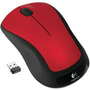 Logitech Wireless Mouse M310, Hands Red