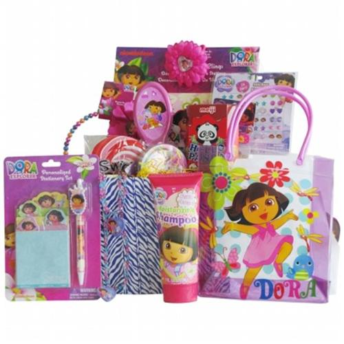 GiftBasket4Kids BGDO1005 Doora accesory gift basket for girls