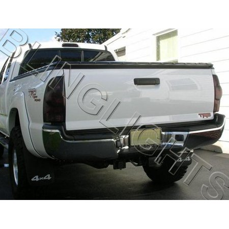 2005 2008 Toyota Tacoma Tinted Smoked Tail Lights Lamps Overlays Film Protection
