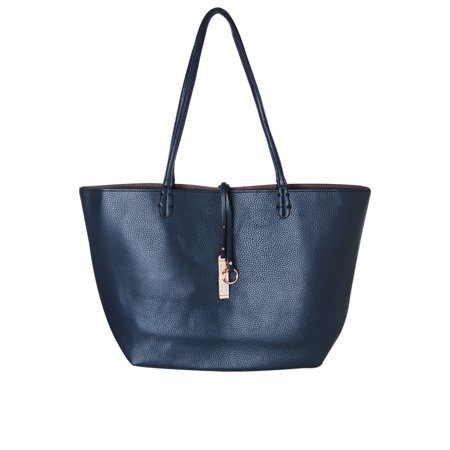 935fd8d4a46 Reversible Vegan Leather Tote Bag - Oversized Top Handle Large Shoulder  Handbag Purse, by Humble Chic NY