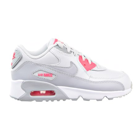 quality design f56f2 ba68c Nike - Nike Air Max 90 LTR (PS) Little Kid s Shoes Pure Platinum ...