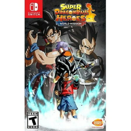 Super Dragon Ball Heroes: World Mission, Bandai Namco, Nintendo Switch