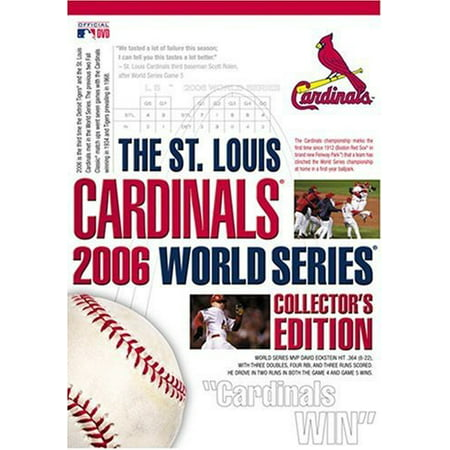 The St. Louis Cardinals 2006 World Series Collector's (Louis Cardinals World Series)