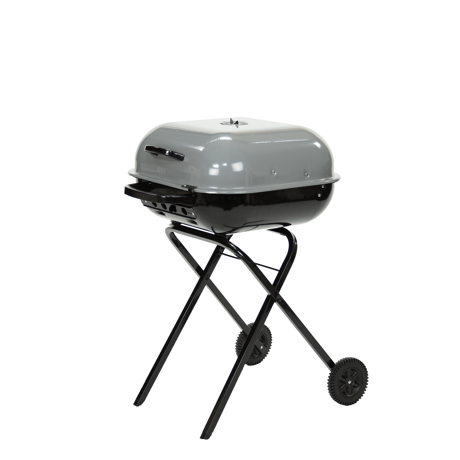 Americana Walk-A-Bout Charcoal Grill in Sports Fan Gray