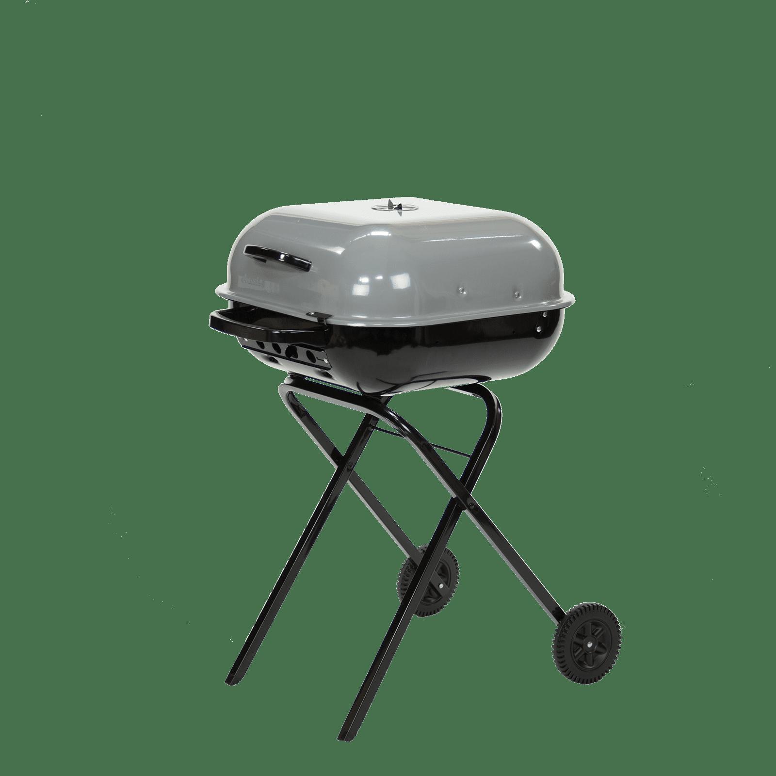 Americana Walk-A-Bout Charcoal Grill in Sports Fan Gray