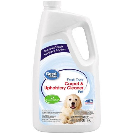 Great Value Pet Carpet Upholstery Cleaner 64 Oz Walmart Com