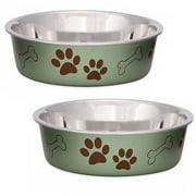 (2 Pack) Loving Pets Bella Small Artichoke Bowl