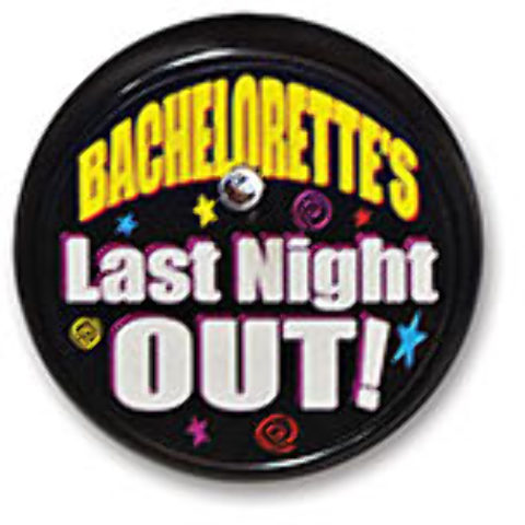 Bachelorette's Last Night Blinking Button Case Pack 6
