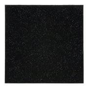 Achim Nexus Self Adhesive Polyester Carpet Tile - 12 Tiles/12 Sq. ft.,12 x 12, Jet