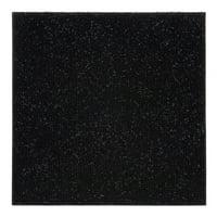 Achim Nexus Self Adhesive Carpet Floor Tile - 12 inches x 12 inches, Jet