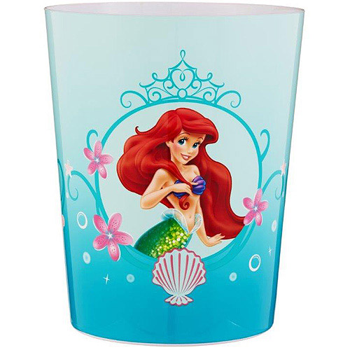 Disney Little Mermaid Ariel Wastebasket