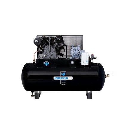 Industrial air ih9929910 200v 10 hp 120 gallon oil lube for 10 hp compressor motor