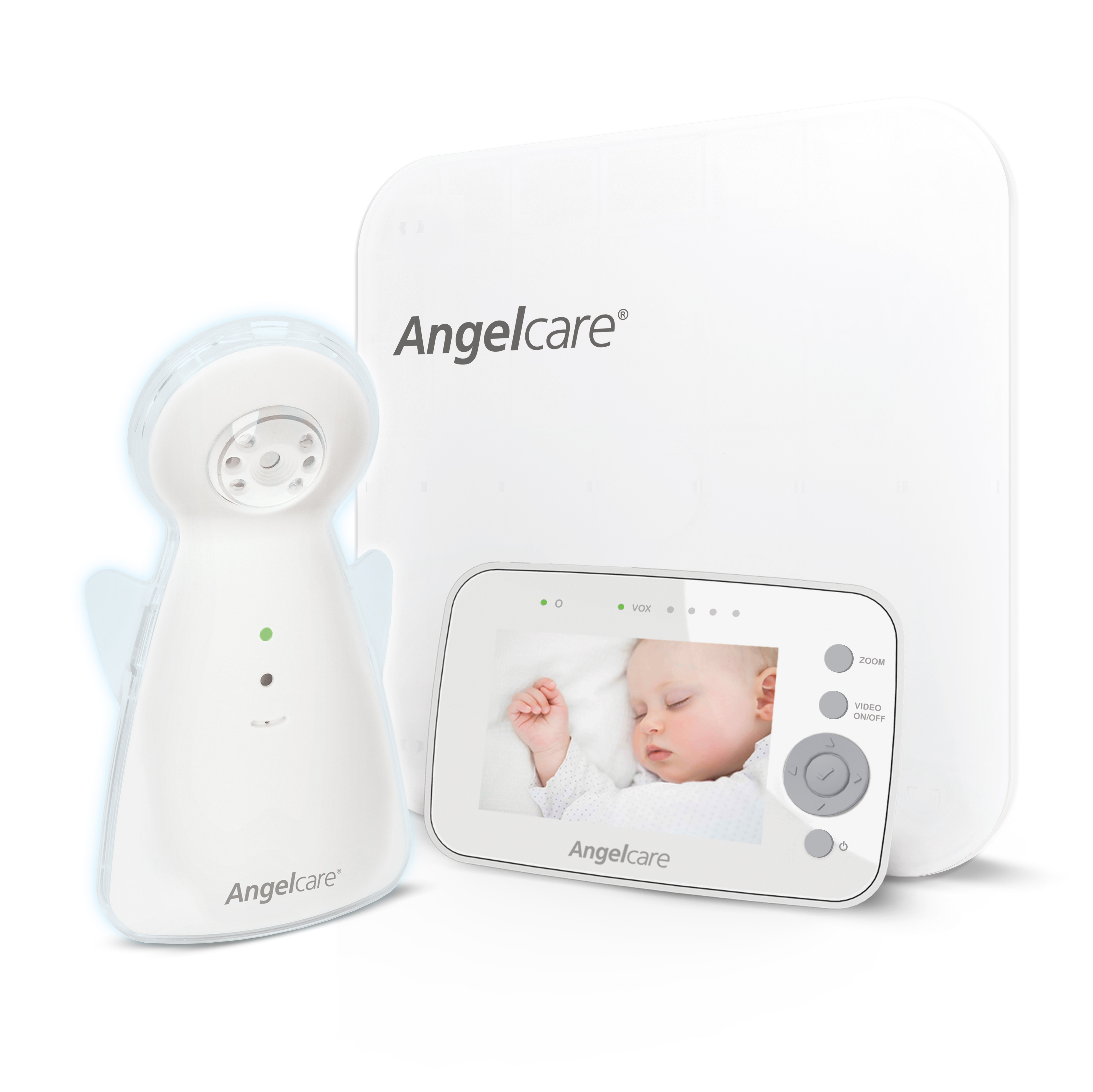 Angelcare A1300, Video and Movement Baby Monitor, Sensor Pad by Angelcare
