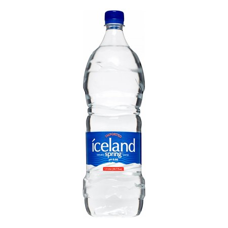 Iceland Spring Imported Natural Water, 50.7 FL OZ