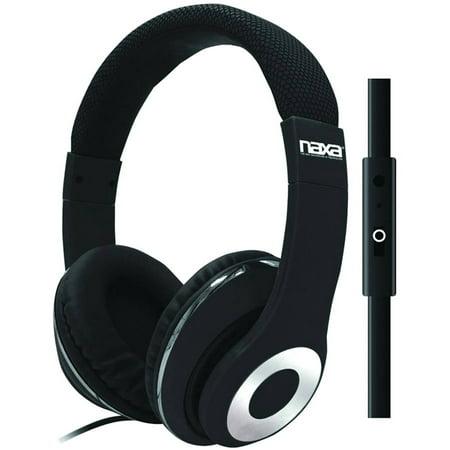 Naxa Ne 943 Backspin Pro Headphones With Microphone
