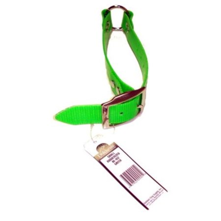 Small Green Rubberized Collar Leash   Crg S   Hunting Dog Training   Dokkens