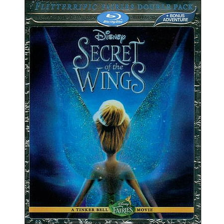Secret Of The Wings (3D Blu-ray + Blu-ray + DVD) (Widescreen) - Tinkerbell Movie