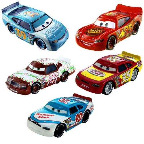 Disney Cars Cars Toon Radiator Springs 1:55 Diecast Car 5-Pack #5/15 & 5/15