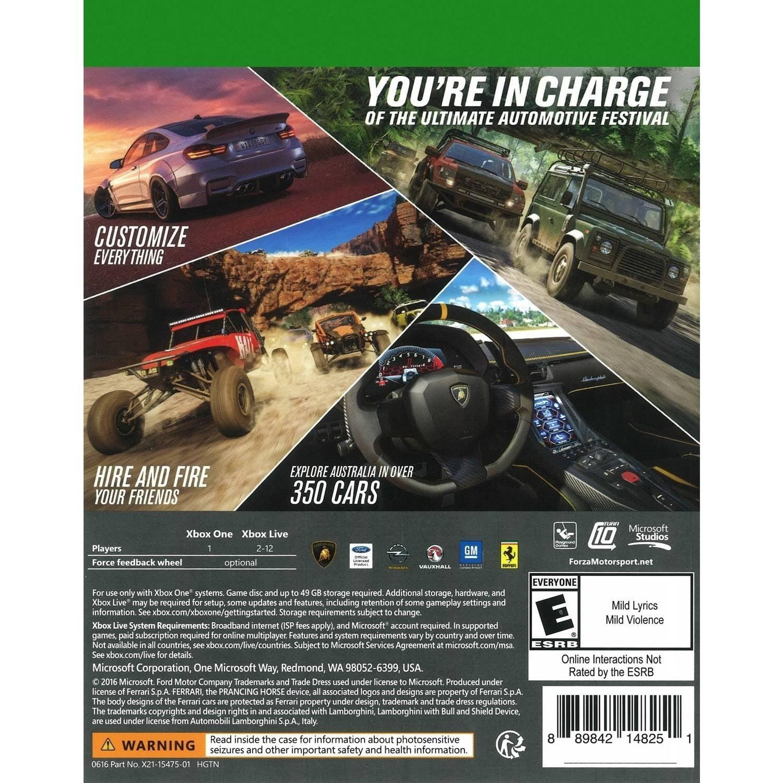 Forza Horizon 3, Microsoft, Xbox One, 889842148251