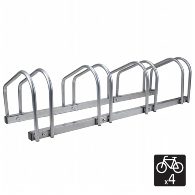 Brybelly SBCY-001 4 Bicycle Floor Stand and Storage Rack by Brybelly