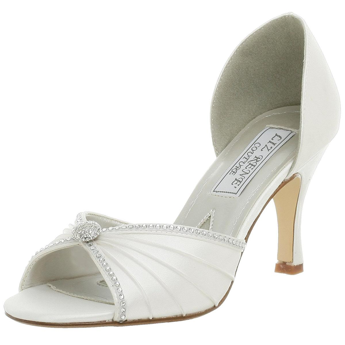 Liz Rene Couture Addison Womens White Heels by Liz Rene Couture
