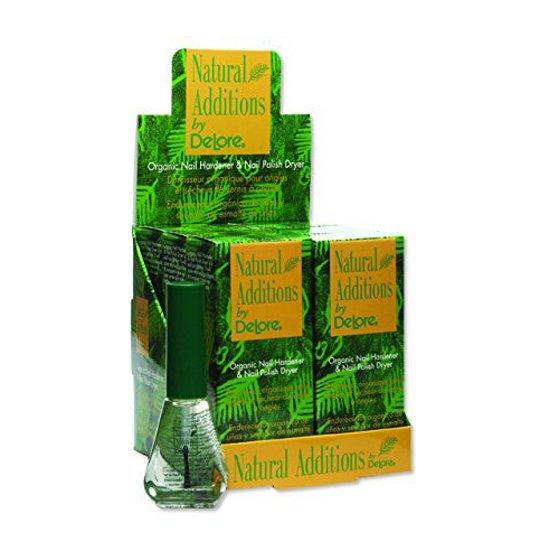 Delore for Nails Organic Nail Hardener and Nail Polish Dryer, 0.25 ...