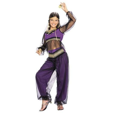 Halloween Belly Dancer Child Costume - Belly Dancer Costume Halloween