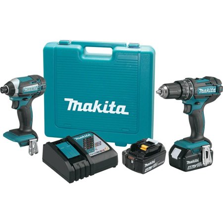 Makita Tool Combo CDLSS 2-Piece 18V L-ION ()