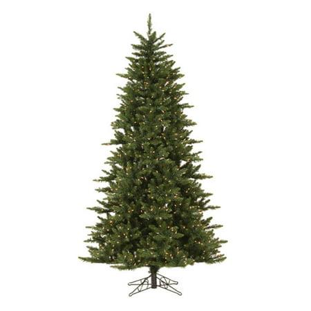 Pre-lit Clear Light 7.5 ft. Camdon Fir Slim Tree