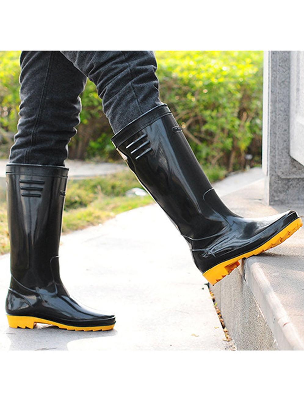 CBD CBD Men's Basic Black Rain Boot