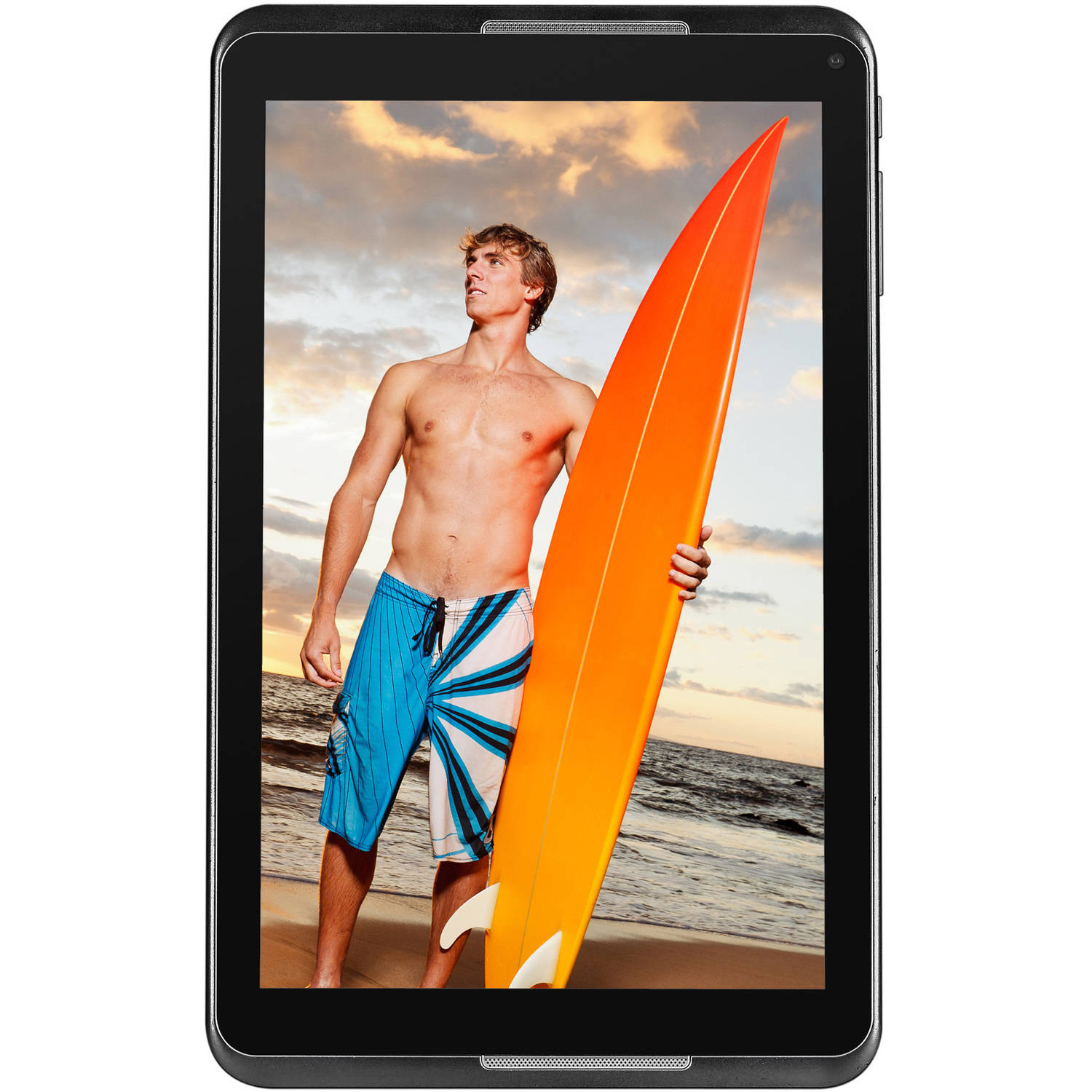 "NuVision 8"" Tablet 16GB Intel Atom Z3735G Quad-Core Processor Android 4.4"
