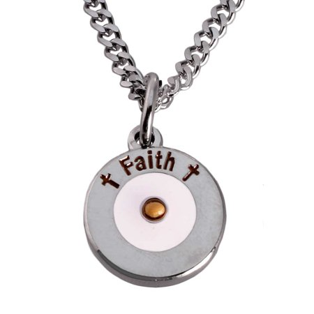 Round Faith Mustard Seed Necklace](Mustard Seed Necklace)