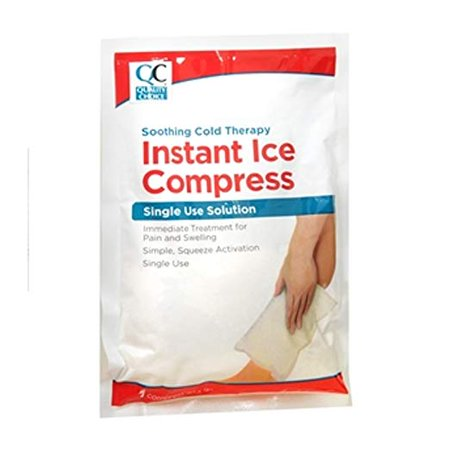 - 5 Pack Quality Choice Instant Ice Compress Single Use 4 X 5 Inches 1 Count Each