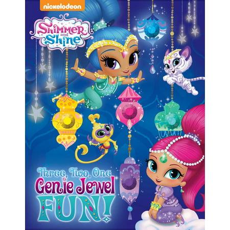 Nickelodeon Shimmer and Shine: Three, Two, One, Genie Jewel